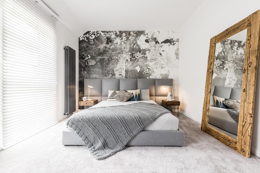 Chambre décorée
